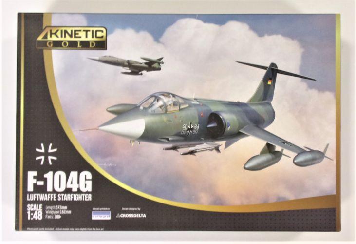 KINETIC 1/48 48083 F-104G LUFTWAFFE STARFIGHTER
