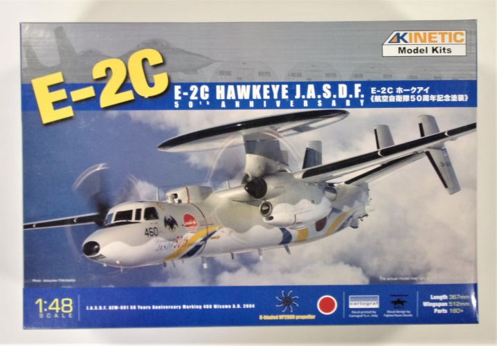 KINETIC 1/48 48014A E-2C HAWKEYE J.A.S.D.F 50th ANNIVERSARY