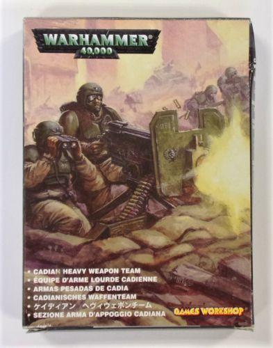 WARHAMMER 40000  CADIAN HEAVY WEAPON TEAM