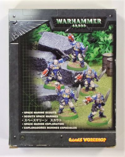 WARHAMMER 40000  SPACE MARINE SCOUTS