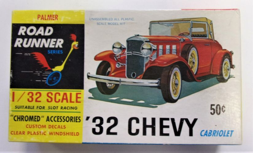 PALMER 1/32 404 32 CHEVY CABRIOLET ROAD RUNNER SERIES