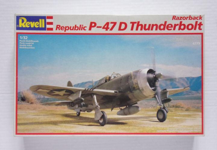 REVELL 1/32 4779 REPUBLIC P-47D THUNDERBOLT RAZORBACK