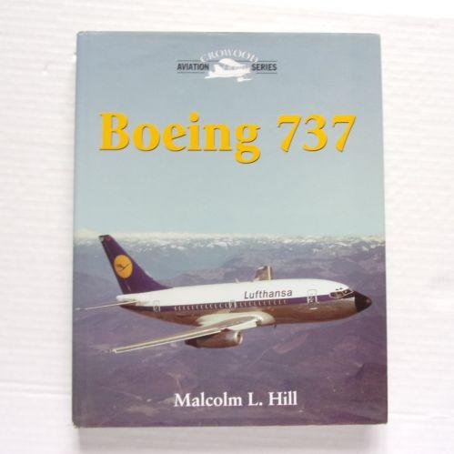 CHEAP BOOKS  ZB3259 BOEING 737 - MALCOLM L. HILL