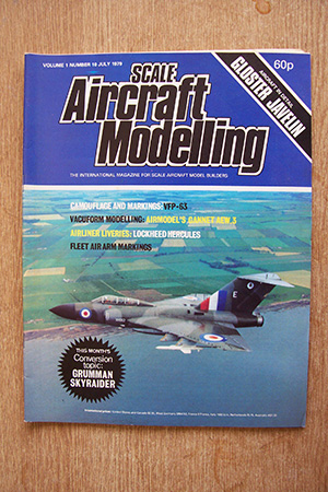 SCALE AIRCRAFT MODELLING  SAM VOLUME 01 ISSUE 10