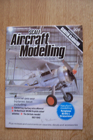 SCALE AIRCRAFT MODELLING  SAM VOLUME 03 ISSUE 08