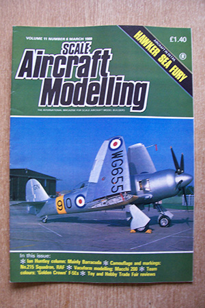SCALE AIRCRAFT MODELLING  SAM VOLUME 11 ISSUE 06