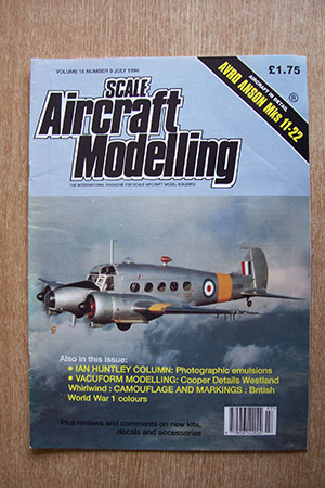 SCALE AIRCRAFT MODELLING  SAM VOLUME 16 ISSUE 09