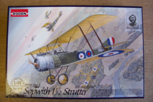 RODEN 1/48 402 SOPWITH 1 1/2 STRUTTER FIGHTER