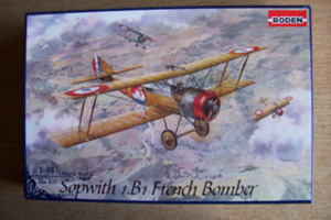 RODEN 1/48 411 SOPWITH 1.B1 FRENCH BOMBER