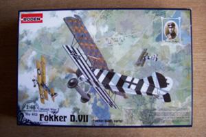 RODEN 1/48 415 FOKKER D.VII