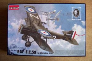 RODEN 1/48 416 RAF S.E.5A WOLSELEY VIPER