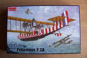 RODEN 1/72 047 FELIXSTOWE F.2A  UPPER WING GUNNER
