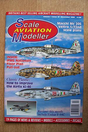 SCALE AVIATION MODELLER  SAMI VOLUME 01 ISSUE 10