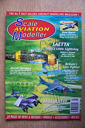 SCALE AVIATION MODELLER  SAMI VOLUME 02 ISSUE 08