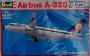 REVELL 1/144 4247 AIRBUS A-320 LUFTHANSA/AIRFRANCE/BRITISH AIRWAYS