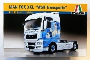 ITALERI 1/24 3921 MAN TGX XXL WOLF TRANSPORTE