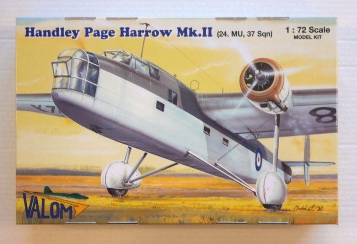 VALOM 1/72 72118 HANDLEY PAGE HARROW Mk.II