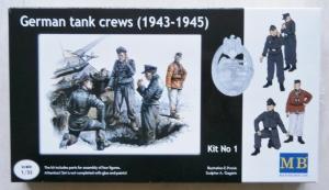 MASTERBOX 1/35 3507 GERMAN TANK CREWS 1943-45