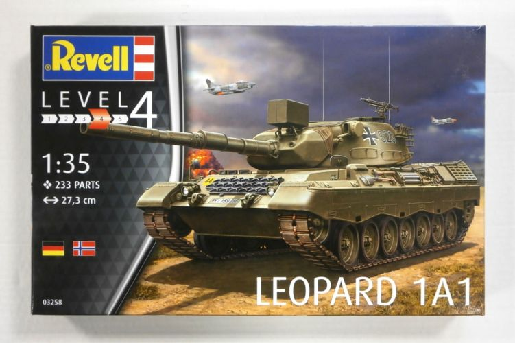 REVELL 1/35 03258 LEOPARD 1A1