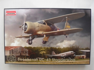 RODEN 1/48 442 BEECHCRAFT UC-43 STAGGERWING