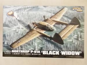 GREATWALL HOBBY 1/48 L4802 NORTHROP P-61A BLACK WIDOW