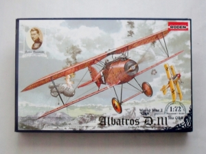 RODEN 1/72 024 ALBATROS D.III OEFFAG s.153 EARLY