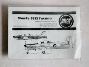 RAREPLANE 1/72 SHORTS S312 TUCANO
