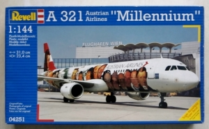REVELL 1/144 04251 A-321 MILLENNIUM AUSTRIAN AIRLINES
