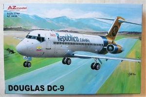 AZ MODEL 1/144 14420 DOUGLAS DC-9 AERO REPUBLICA COLOMBIA