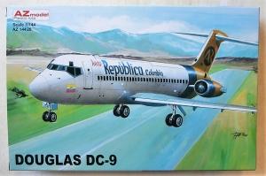 AZ MODEL 1/144 14420 DOUGLAS DC-9 AERO REPUBLICA COLOMBIA