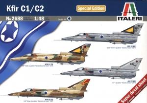 ITALERI 1/48 2688 KFIR C1/C2 SPECIAL EDITION