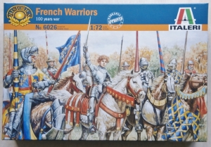 ITALERI 1/72 6026 100 YEARS WAR FRENCH KNIGHTS   FOOT SOLDIERS