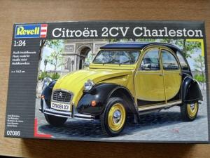 REVELL 1/24 07095 CITROEN 2CV CHARLESTON