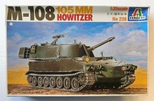 ITALERI 1/35 238 M-108 SP GUN