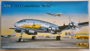 HELLER 1/72 80382 C-121A CONSTELLATION BERLIN