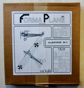 FORMAPLANE 1/72 ALBATROS B-II