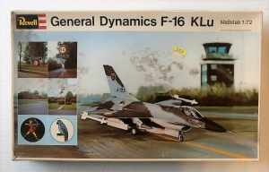 REVELL 1/72 H219 GENERAL DYNAMICS F-16 KLu