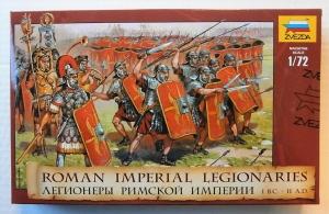 ZVEZDA 1/72 8043 ROMAN IMPERIAL LEGIONARIES