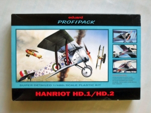 EDUARD 1/48 8034 HANRIOT HD.1/HD.2