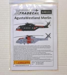XTRADECAL 1/48 48131 AGUSTA WESTLAND MERLIN