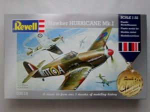 REVELL 1/32 00018 HAWKER HURRICANE Mk.I