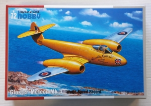 SPECIAL HOBBY 1/72 72361 GLOSTER METEOR Mk.4 WORLD SPEED RECORD