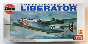 AIRFIX 1/72 06010 CONSOLIDATED B-24J LIBERATOR