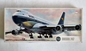 AIRFIX 1/144 08170 BOEING 747 BOAC LATER