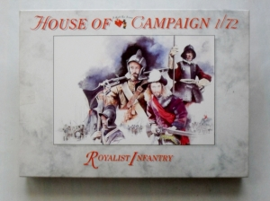 CALL TO ARMS 1/72 61 ROYALIST INFANTRY
