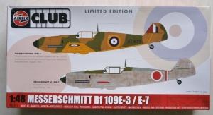AIRFIX 1/48 82012 MESSERSCHMITT Bf 109E-3/E-7