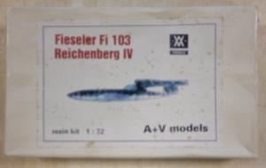 A   V MODELS 1/72 FIESELER Fi 103 REICHENBERG IV