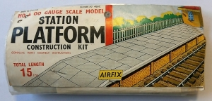 AIRFIX HO/OO 4007 STATION PLATFORM TYPE II BAG