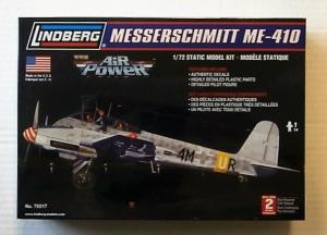 LINDBERG 1/72 70517 MESSERSCHMITT Me 410