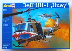 REVELL 1/24 04905 BELL UH-1 HUEY